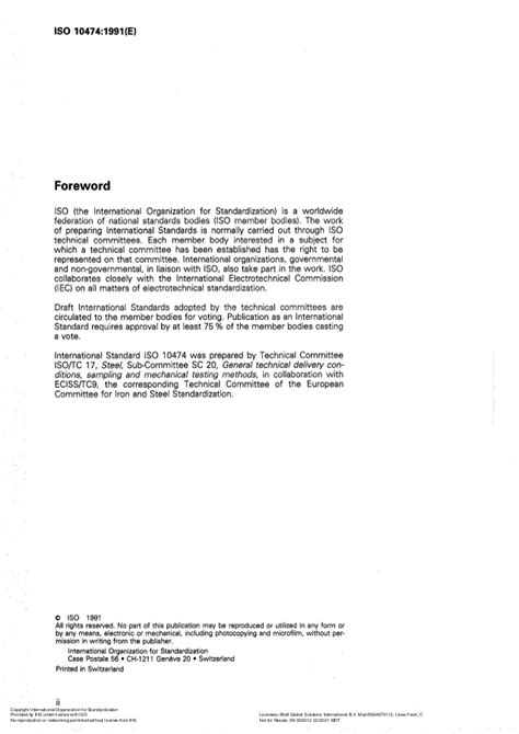 Iso 10474 Steel And Steel Products  Inspection Documents