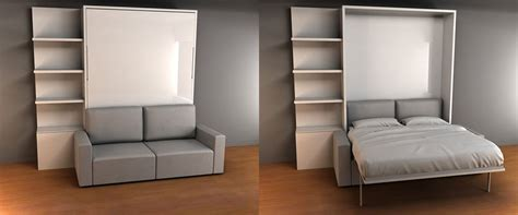 Brilliant Space Saving Bed And Sofa ( Murphy Sofa Bed