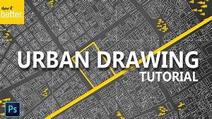 Urban Site Plan Tutorial - Dark Background