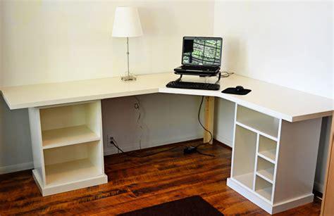 diy corner desk with file cabinets modular desk idea entryway formal living room