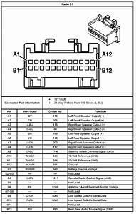 2001 Chevy Silverado Radio Wiring Diagram