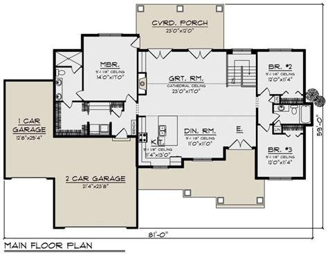 House Plan 1020 00331 Craftsman Plan: 1 921 Square Feet