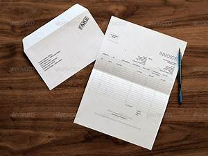 Letter & Envelope Mockups by themedia GraphicRiver