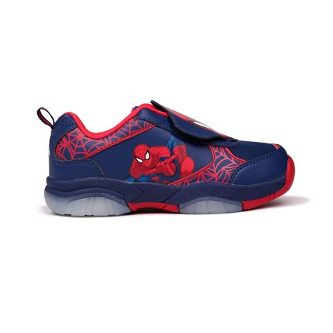 Boys Light Up Shoes by Character Light Up Infants Trainers Boys Reinforced