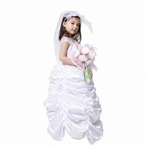 2015 free shipping halloween dress for girls wedding bride With wedding dress costume for girls