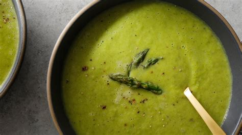 pan roasted asparagus soup recipe nyt cooking