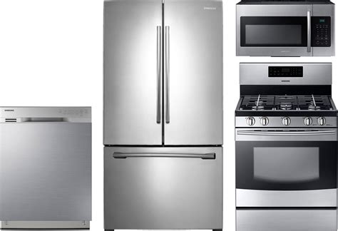 Piece Kitchen Package With Nx58f5500ss Gas Range
