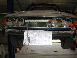 Triumph Stag Project  Headlights