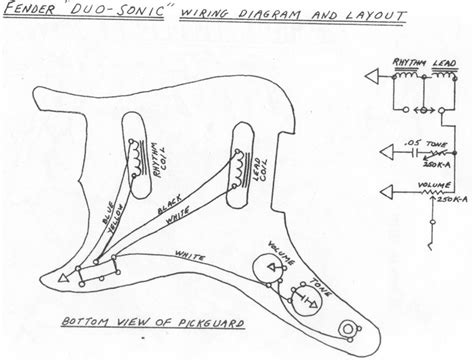fender 174 forums view topic duo sonic wiring