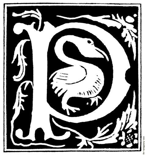 decorative initial letter p   century