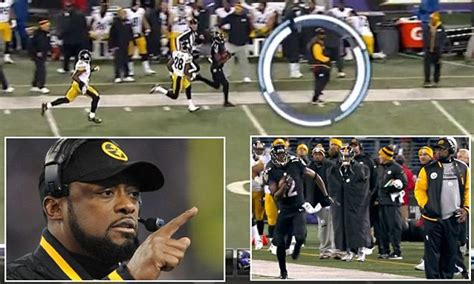 steelers coach mike tomlin deliberately stop  ravens