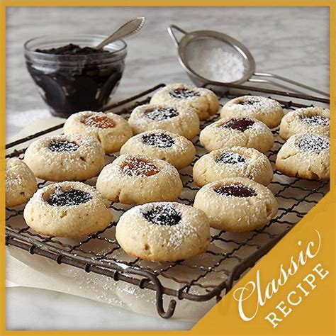 Stonewall Kitchen Jam Recipe by Thumbprint Jam Cookies Recipe In 2019 Cookies And Bars