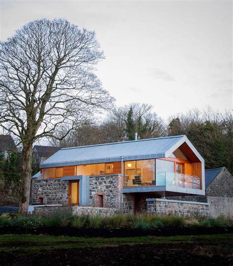 Long Kitchen Design Ideas - barn conversion in broughshane northern ireland