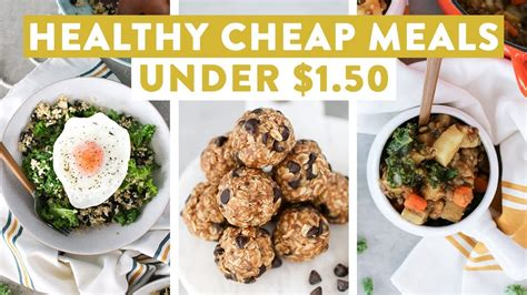 healthy cheap meals   easy budget friendly