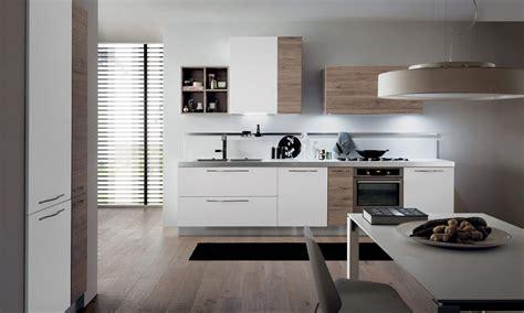 cuisines modernes italiennes cuisine moderne italienne blanche et bois