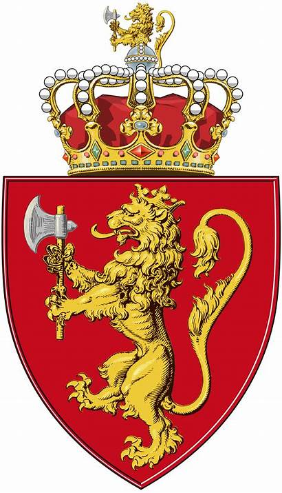 Arms Norway Coat Shield Svg Crest Clipart