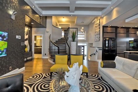 Design And Decor by Contemporary Custom Home In Saskatoon With Inspiring