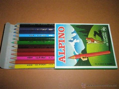 Aª Caja Con 12 Pinturas-alpino-lápices De Color
