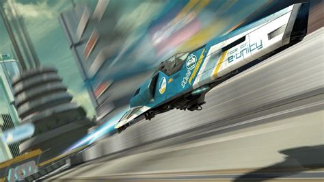 wipeout racing feisar fi concept games ships sci