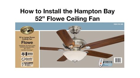how to install a ceiling fan box without attic access how to install a ceiling fan flowe youtube