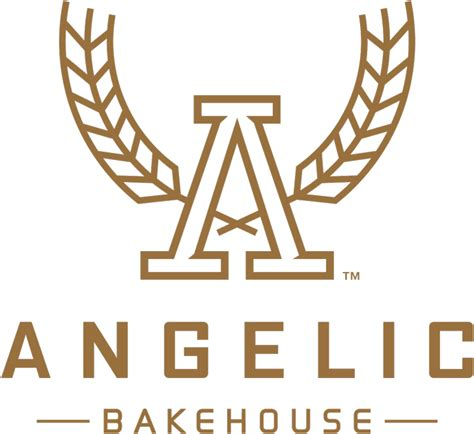 brand new new name logo and packaging for angelic bakehouse by shine united