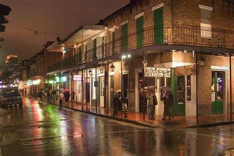 New Orleans by Photo 438 09 Corner Of Bourbon And Orleans Streets At