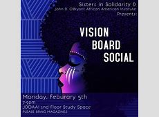 Vision Board Social African American Institute African
