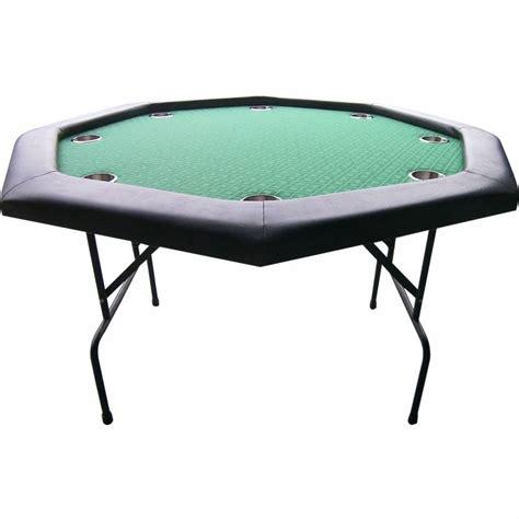 folding poker table reviews foldable octagon pokertable 120cm pokerhandel
