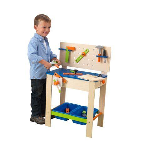 Boys Work Bench - kidkraft deluxe workbench with tools walmart