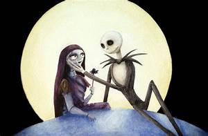 Nightmare Before Christmas images Jack and Sally HD ...
