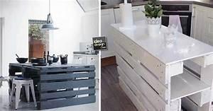 Isola Cucina Con I Pallet  15 Idee A Cui Ispirarsi