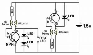 transistor and led tester With led tester circuit