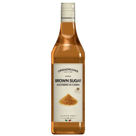 brown sugar syrup odk brown sugar syrup 750ml squeeze bottle at drinkstuff
