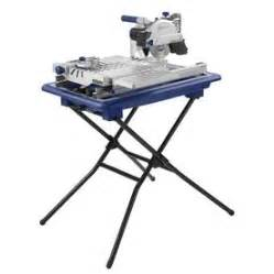 shop kobalt 7 in wet tabletop sliding table tile saw with