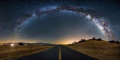 Milky Way Galaxy Oka Fala