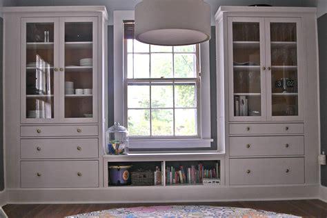 Ikea Hack Hemnes Bookcase by Ikea Hemnes Hack Dining Room Built Ins Using Hemnes
