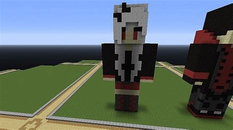 Vampire Girl Skin Statue Minecraft Project