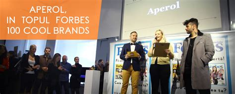 [en] [ro]aperol Wins Forbes 100 Cool Brands Award  Photos