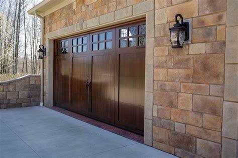 Wood Garage Door by Wood Garage Doors Wayne Garage Door