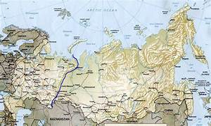 The gallery for --> Ural River Map