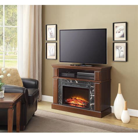 Fireplace Tv Stand Console Up To 50 Entertainment Shelves