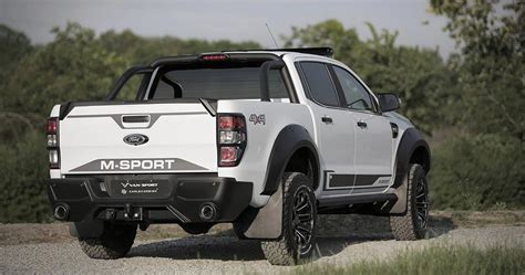 tricked   sport ford ranger revealed auto news