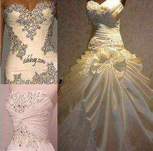 sparkly wedding dresses wedding pinterest With sparkly wedding dress