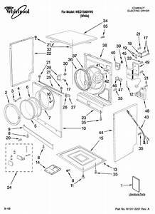 Whirlpool Model Wed7500vw0 Residential Dryer Genuine Parts