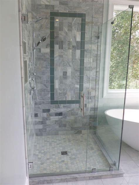 corner shower glass doors corner shower stalls  space