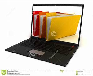 Computer Folders Stock Image - Image: 13551241