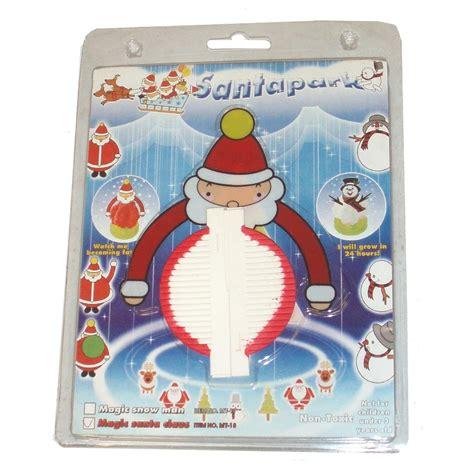 24 x magic santa snowman tree s christmas craft kits