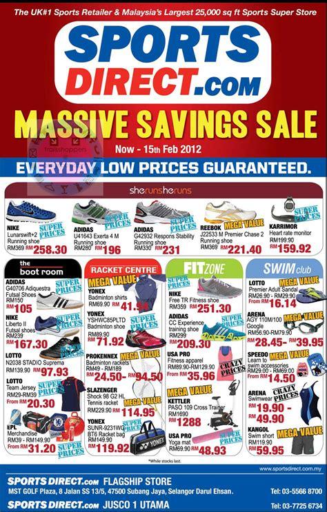 sports direct massive saving sale   feb
