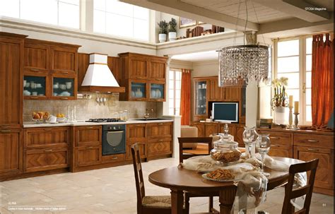 Home Interior Design & Decor: Classical Style Kitchens