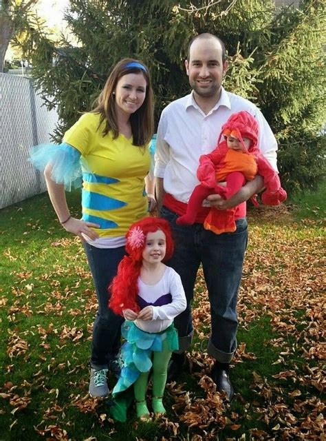 ideen familie fasching ideen karneval kost 252 me familie arielle freunde
